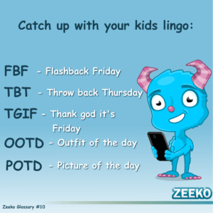 Zeeko internet safety lingo #10