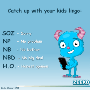 Zeeko internet safety lingo #11
