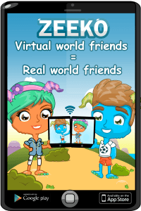 Real Friends v Virtual Friends Poster
